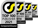 Top 100 publisher by ComponentSource