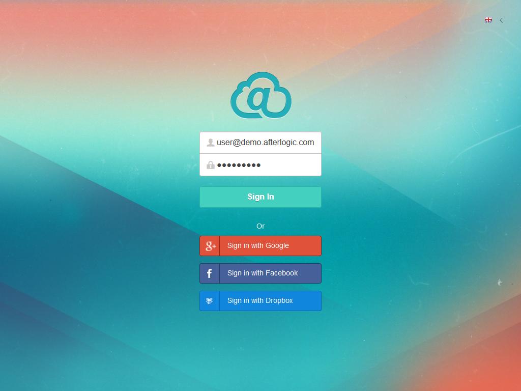 Webmail client Afterlogic WebMail Pro — ajax enabled script
