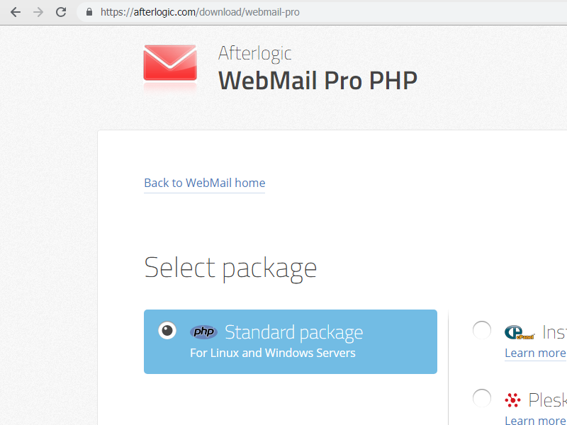 cPanel WebMail Pro download