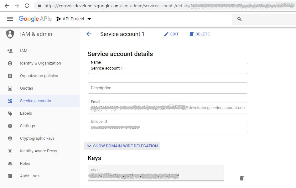 OAuth 2 0 for Google Apps Service Accounts (installed and